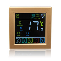 Touch Screen Air Conditioner Underfloor Heating Room Thermostat