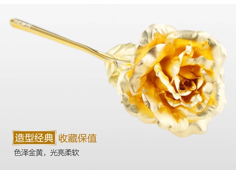 24 К золотая роза на алиэкспресс