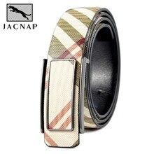 Leather belt for men Strap male Smooth buckle vintage jeans cowboy Casual designer brand belt Free shipping men belt men brand