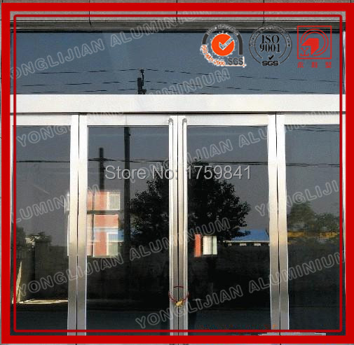 Entrance glass swing door for block shopping mall and store entry & Entrance glass swing door for block shopping mall and store entry ...