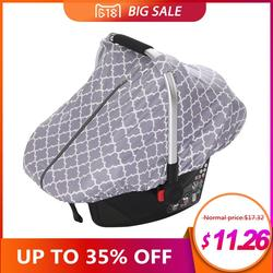 Multi-Use Mother Breastfeeding Cover Lattice Nursing Cover Baby Sunshade Stroller Cover Infant Car Seat Cover for Newborn Babies