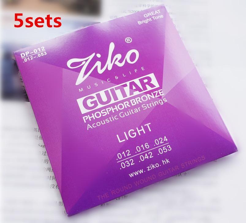 dp 012 ziko 012 053 acoustic guitar strings guitar parts wholesale musical instruments. Black Bedroom Furniture Sets. Home Design Ideas