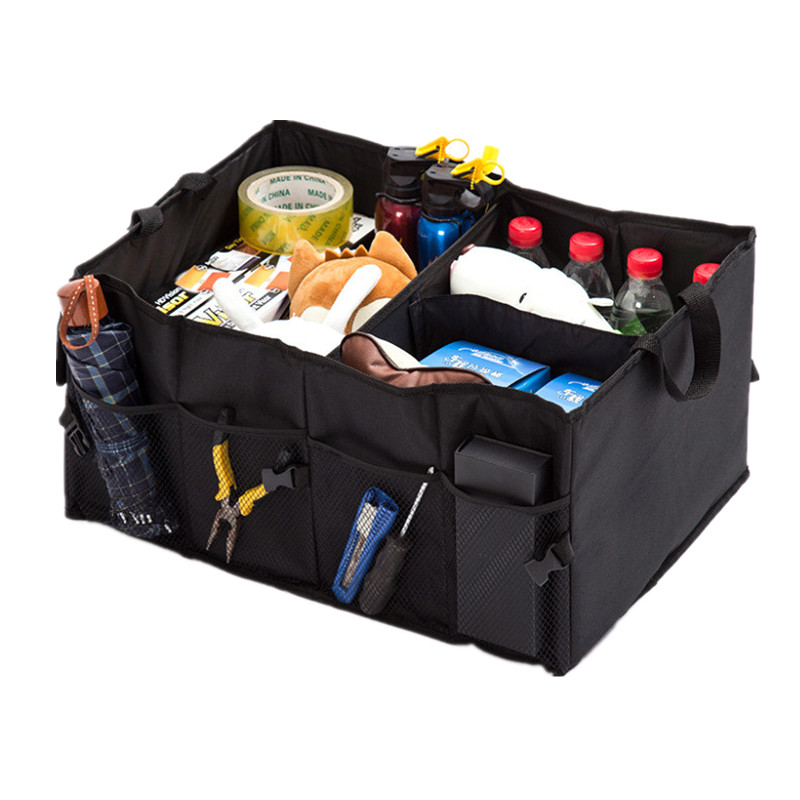 Auto Supplies Car Back Folding Storage Box Multi-Use Tools Organizer Car Portable Storage Bags Black frsky tfr6 tfr6 a 7ch 2 4g receiver compatible with futaba fasst frsky tfr6 t8fg 10cg 14sg tf module