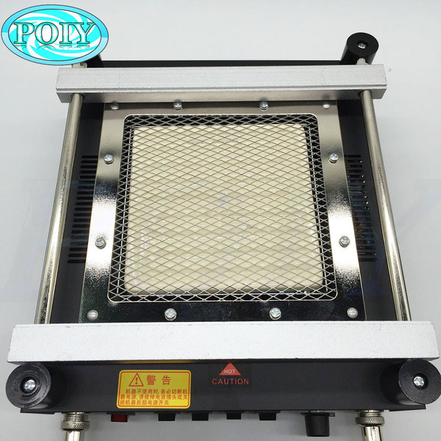 Gordak 863 3in1 Digita Hot Air Heat Gun BGA Rework Solder Station Electric Soldering iron IR Infrared Preheating Station 3