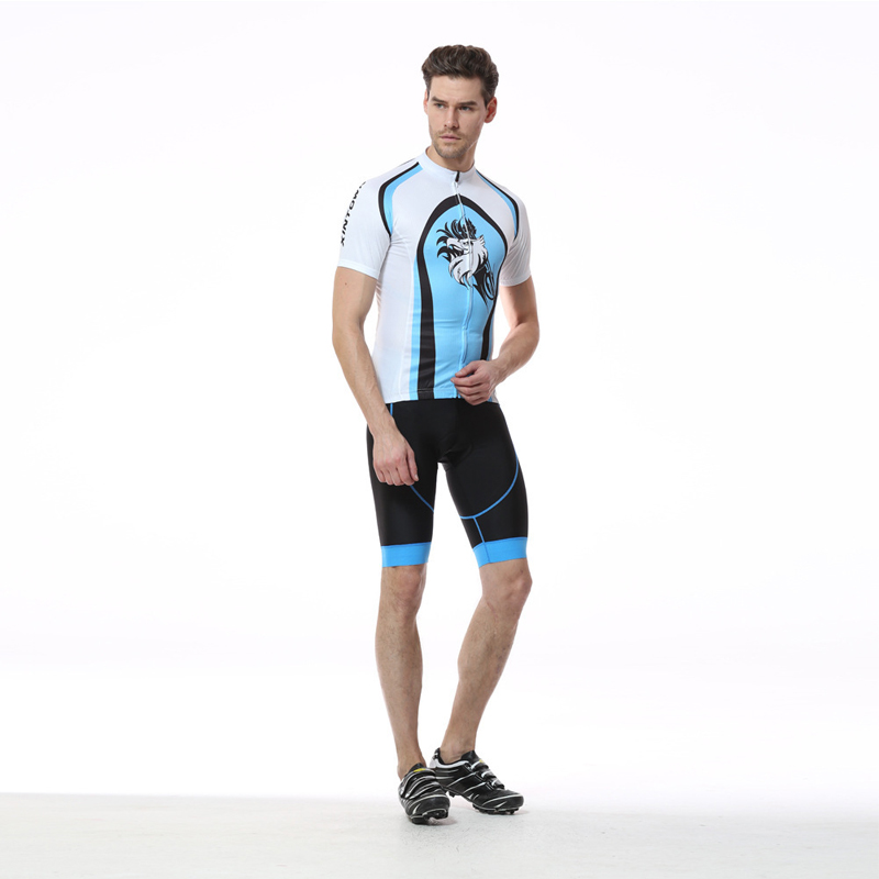 Cycling Jersey Sets Summer Men Team Short Sleeve Set Bike Quick Dry Breathable Sport Cycling Clothing Ropa Ciclismo xintown summer breathable mens team short sleeve cycling jersey riding clothing polyester bike set fluorescent shark
