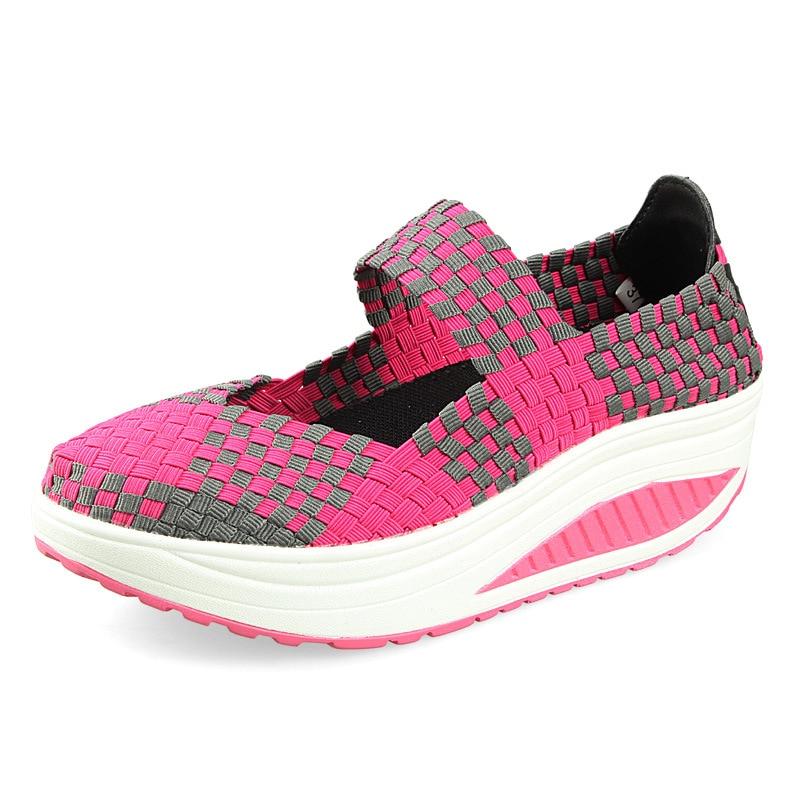 Women Casual Shoes Fashion Platform Mesh Air Women Shoes Lightweight Summer  Zapatos mujer women shoes casual shoes lightweight summer beach flats shoes women loafers breathable air mesh zapatos mujer tenis feminino u1