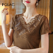 women blouse shirt Fashion casual short