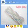 Nova Placa De Ensaio 830 Ponto de Solda PCB Bread Board MB-102 MB102 Teste Desenvolver DIY novo originali
