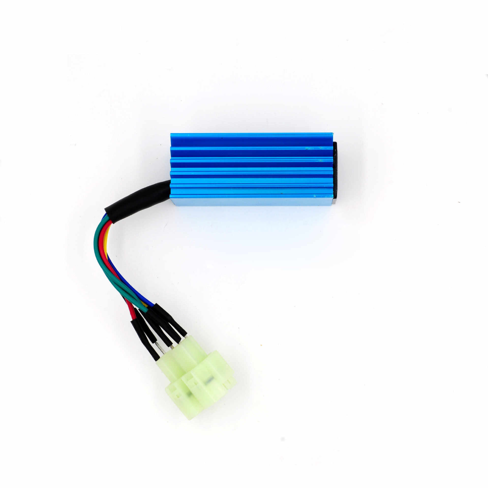 1pc performance 6 pin racing cdi box ignition coil for gy6 scooter moped 50cc 150cc [ 1920 x 1920 Pixel ]