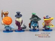 Anime One Piece 8pcs/set Figures PVC Action Figures Collection Model Toy