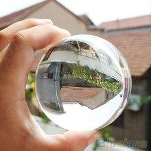 60mm Rare Natural Quartz Crystal Sphere Clear Magic Ball Chakra Healing Gemstone 1UBC 3TWP
