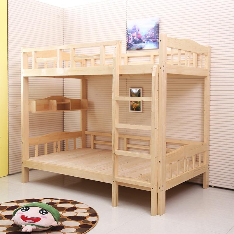Children 39 s bunk bed wood bunk bed bunk bed pine bed - Sofas cama infantiles ...