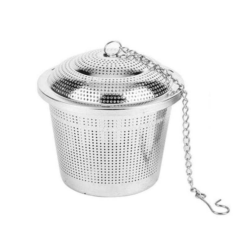 304 Stainless Steel Hop Steeper Herb Ball Dry Hopping Filter Home Brew 80mm