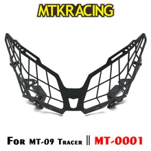 MTKRACING For YAMAHA FZ-09 MT-09 FJ-09 FZ09 MT09 Tracer 2015-2018 Motorcycle modification Headlight Grille Guard Cover Protector motorcycle accessories headlight bottom bracket mount holder beak power for 2015 2016 yamaha mt09 mt 09 fj 09 tracer