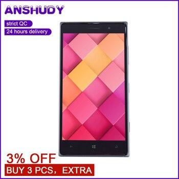 עבור Nokia Lumia 830 N830 RM-984 מגע מסך Digitizer חיישן זכוכית לוח + LCD תצוגת צג פנל מודול עצרת + מסגרת