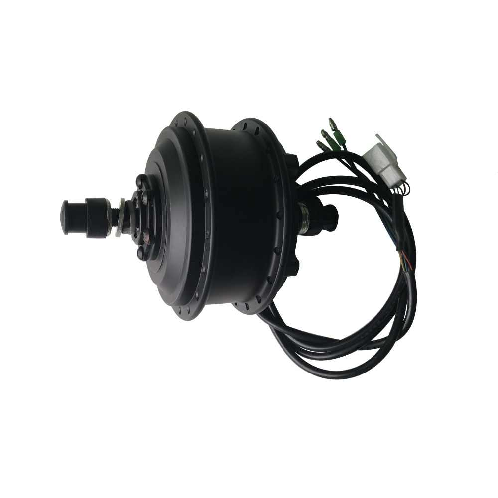 عجلة أمامية من EBIKE 36 فولت 48 فولت 250/350/500/1000/1500 وات عجلة حرة خلفية/كاسيت دراجة كهربائية بدون تروس أو محرك محور تروس