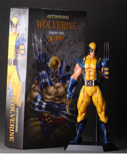NEW CRAZY TOYS 11 MARVEL X-MEN ASTONISHING WOLVERINE STATUE ACTION FIGURES TOY Anime Figure Collectible Model Toy цена