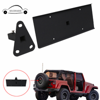 For Jeep Wrangler JK Unlimited 2007 2017 Rear Spare Tire License Plate Relocation Bracket O