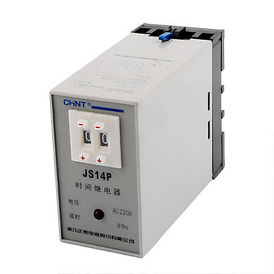 цена на JS14P AC 220V 1-99 Seconds Power On Delay Timer Digital Display Time Relay
