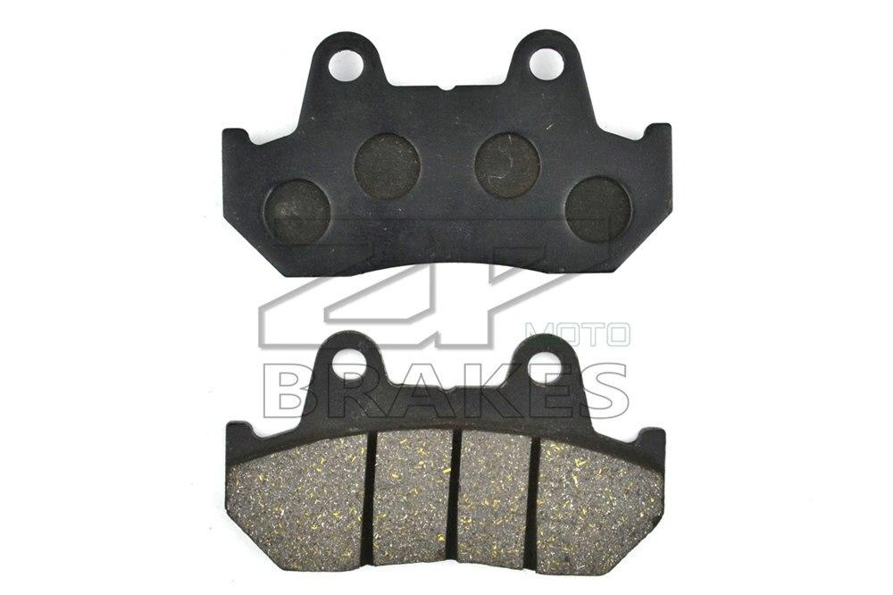 New Organic Brake Pads For Front HONDA VF 700 Interceptor 1984-1985 CX 650 E/EC/TURBO/TD/T 1983 Motorcycle BRAKING DTRAD