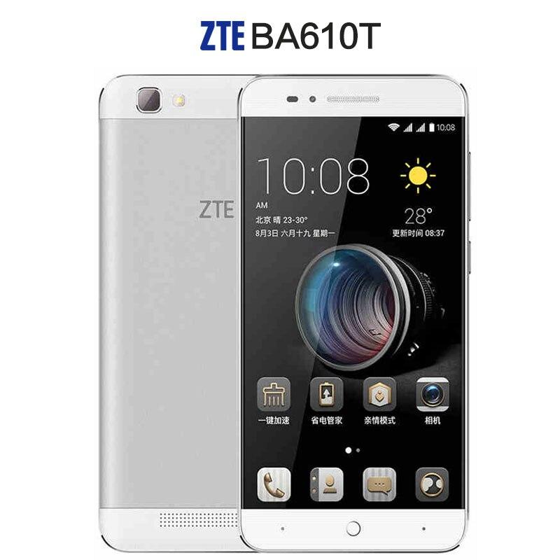 bilder für ZTE BA610T Handy MTK6735P Quad Core Android 5.1 1280X720 2 GB RAM 8 GB ROM 8.0MP 4000 mAh Lange standby-a2 a1 C880U