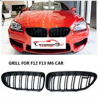 CITYCARAUTO high quality Racing grill grille ABS black front trim Replacement Grill Raptor fit for F06 F12 F13 640i 640d 650i M6