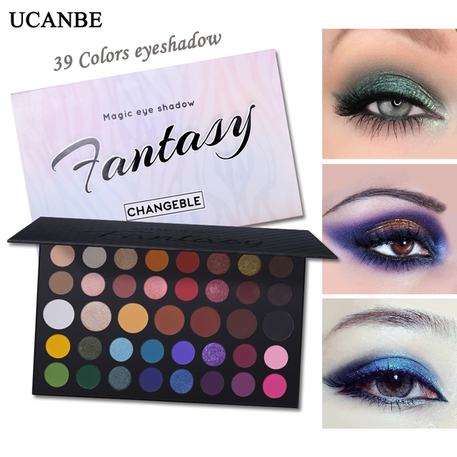 UCANBE James Charles 39 Color Eye Shadow Pearlescent Matte Eye Color Makeup Maquillage Facial  Makeup Palette Eyeshadow Pallete