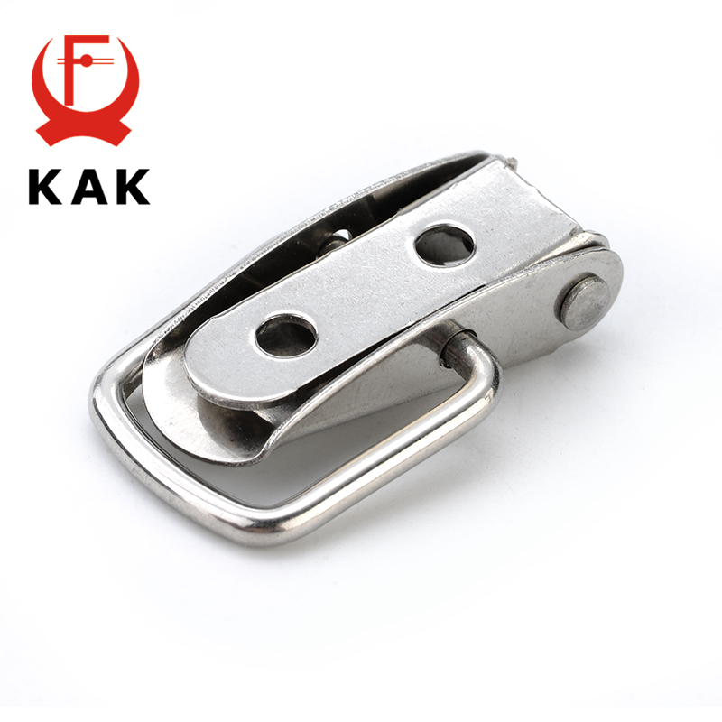 J106 Cabinet Box Spring Loaded Latch Toggle Locks Hasp For Sliding Door Windo IS