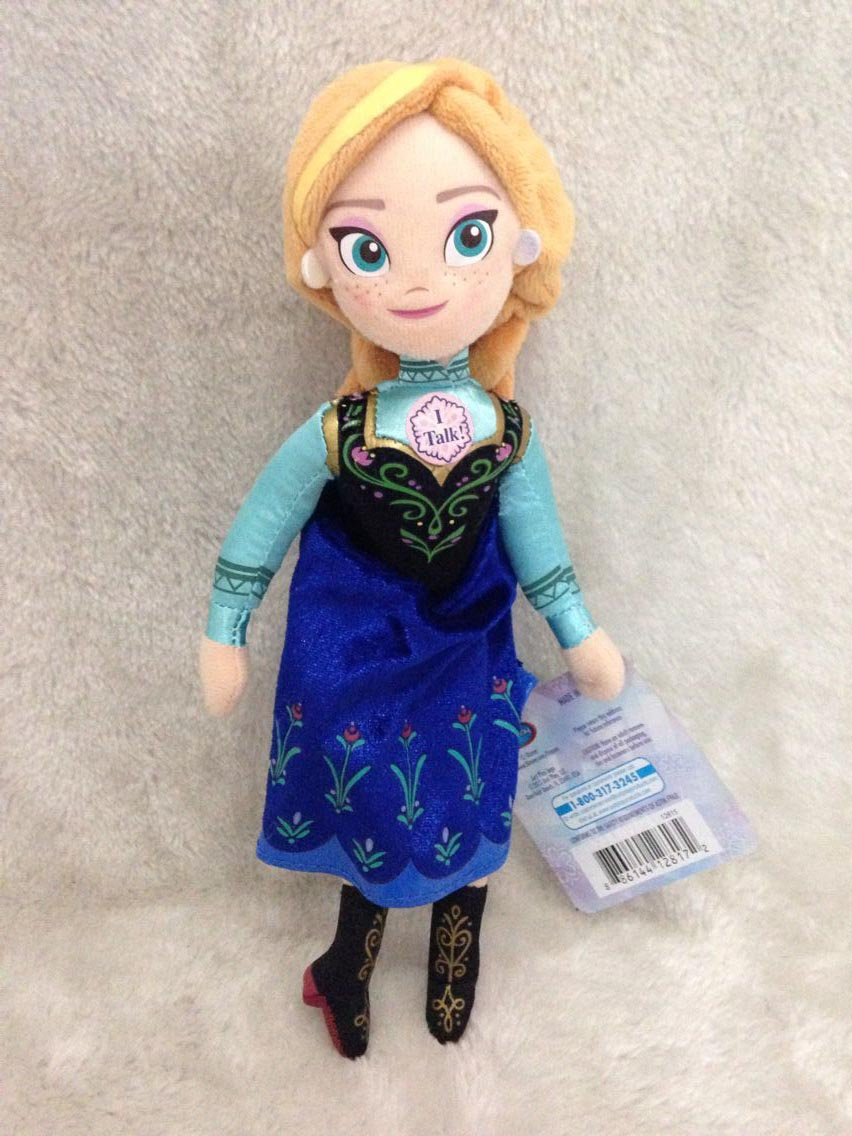Save fruit doll - Anna Plush Doll 8inch Hot Movie Toys Dolls For Girls Gift Pre Sale Try Me