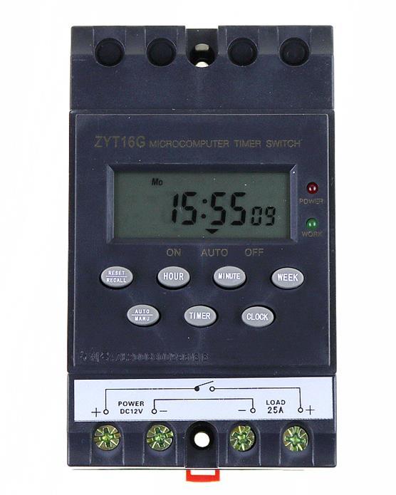 KG316T DC English version Digital Timer Switch automatic program/programmable timer switch Microsoft LCD program timer timer at11en