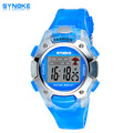 2016 New fashion SYNOKE Jelly LED Watch life waterproof outside sport cartoon watches boys girl's Children's Digital Watches