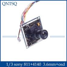 700TVL CCTV Camera Sony Effio E 4140 811 OSD Menu 3 6mm Lens Security Camera Outdoor