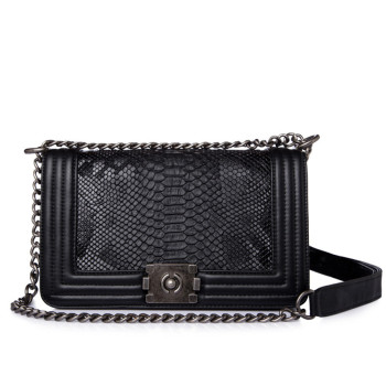 Diamond Lattice Cross-body Bag