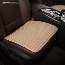 Karcle 1 ШТ. Универсальный Натуральный Гречневая Ccar Seat Covers Здоровый Автомобилей Подушки 4 Seasons Автомобилей стайлинг Автомобилей Аксессуары