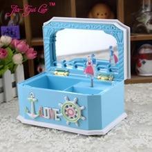 The Mediterranean amorous feelings of lovers music box New creative fashion jewelry box School girls birthday gift jia-gui luo