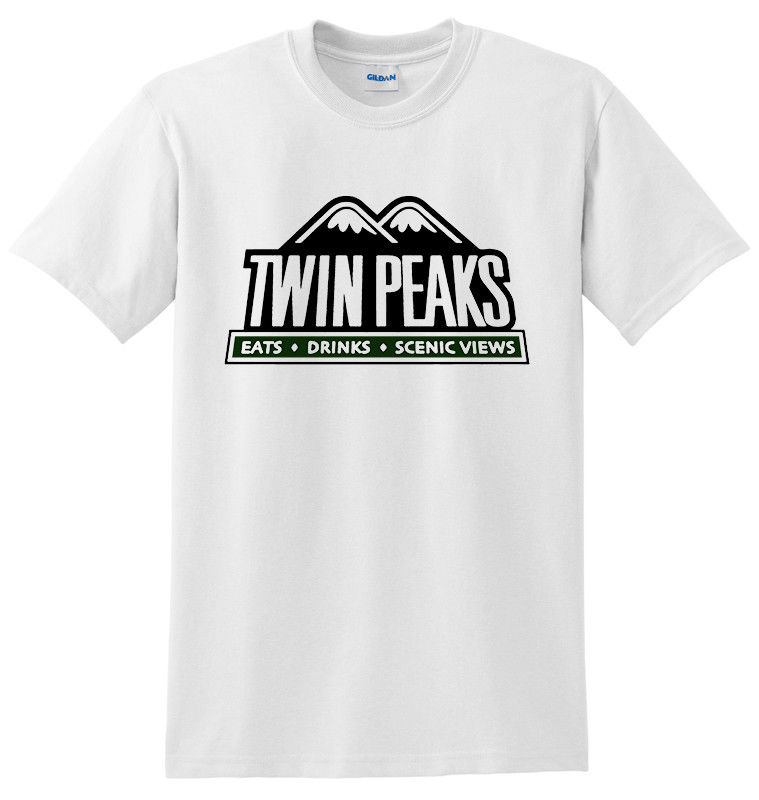 Twin Peaks David Lynch TV series White Men T-shirt size S-3XL Cartoon Print Short Sleeve T Shirts Free Shipping