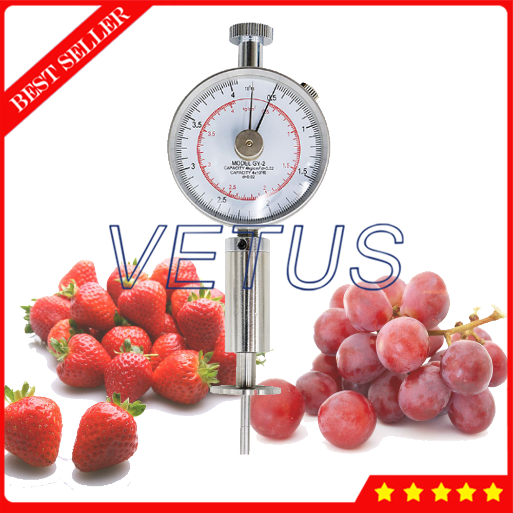 GY-2  Fruit Penetrometer with Fruit Hardness Tester Fruit Sclerometer Fruit durometer for 0.5-4kg/cm 2 (x10 5pa) GY-2  Fruit Penetrometer with Fruit Hardness Tester Fruit Sclerometer Fruit durometer for 0.5-4kg/cm 2 (x10 5pa)