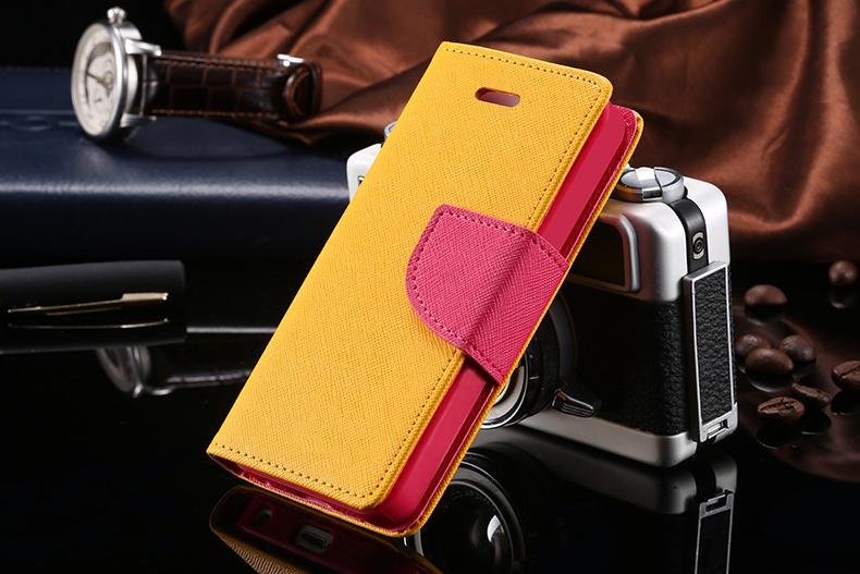 Kisscase dla iphone 4s przypadki nowy hit kolor skóry ultra odwróć case dla iphone 4 4s 4g wizytownik stań pokrywy torby telefon komórkowy 17