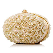2016 frauen Gestickte Perlen Abendessen Purse Handgemachte Wulstige Clutch Abendtasche Perlen Schulter Bankett Mini Messenger Bags Li163