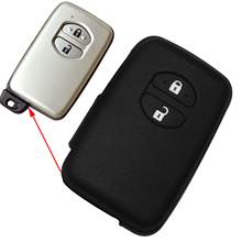 цена на Remote 2 Buttons Car Key Case Cover For Toyota RAV4 Land Cruiser Camry Highlander Prado Prius