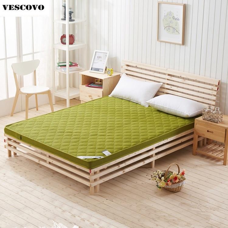 summer bamboo fiber mattress foldable massage mattress tatami memory foam mattress home bed - Cheap Memory Foam Mattress