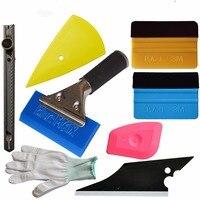 8in1 Car Window Tint Installation Tool Auto Film Tint Wrap Tools Kit Scraper AT020