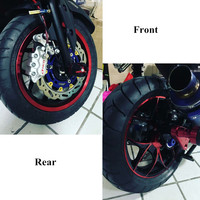 Modified Motorcycle NMAX CNC Aluminum Alloy parts nmax rear front wheel rims for yamaha nmax155 2016 2017 2018 2019