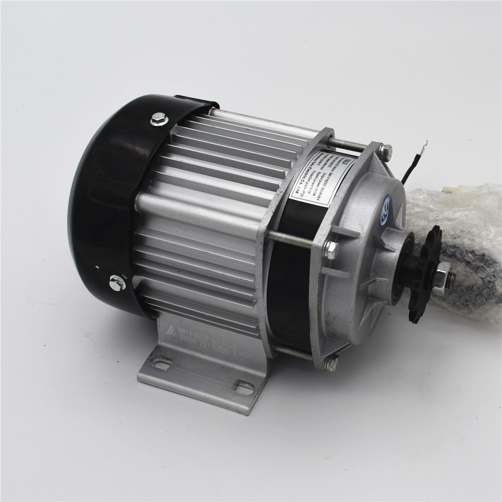 все цены на  Small and medium sized electric tricycle fittings Permanent magnet DC brushless motor BM1418ZXF350W48V  онлайн