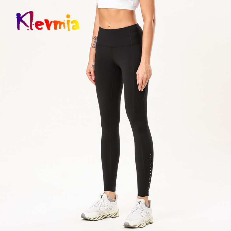 Women Energy Workout Leggings High Waist Legency Fitness Sports Leggings Tummy Control Yoga Pants With Pockets Gym Leggings in Yoga Pants from Sports Entertainment
