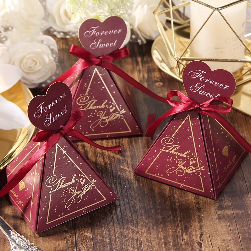 free shipping 100pcs Wedding favor box Romantic starry sky 12colors custom logo candy boxes personalized Customize