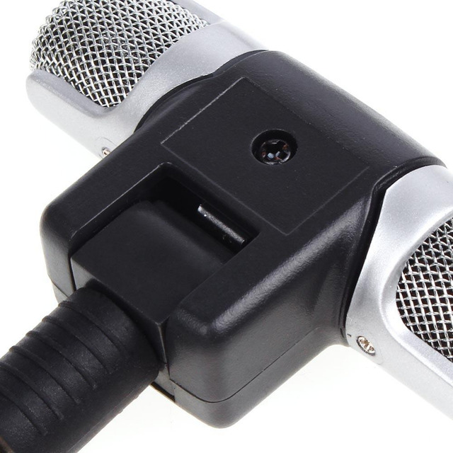 Electret Condenser for PC for Universal Computer Laptop phone Microphone Mini Microphone Stereo Voice MIC 3.5mm