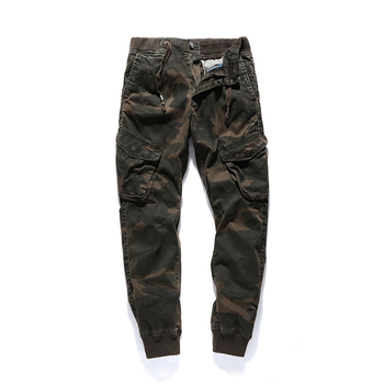 2018 New High Quality Jogger Camouflage Pants Men Casual Cotton Fitness Runners Trousers Comfortable Sweatpants Autumn Cargo Man Cargo Pants