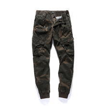2018 New High Quality Jogger Camouflage Pants Men Casual Cotton Fitness Runners Trousers Comfortable Swearpants Autumn Clothing