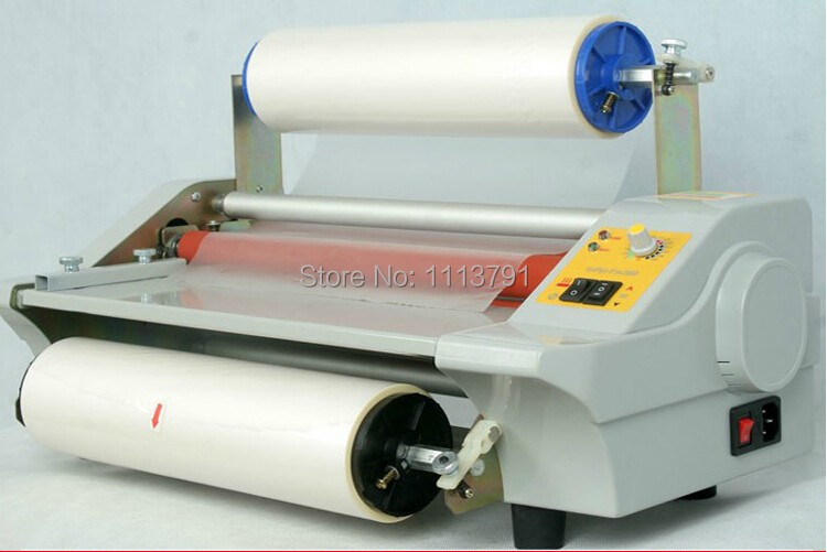 AIPU FM360J Laminator Four Rollers electronic temperature control Hot Roll Laminating Machine single and sided a